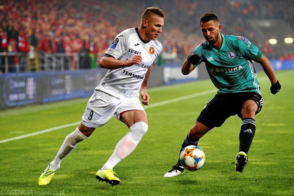 Marcin Robak strzelił gola w meczu Widzewa z Legią