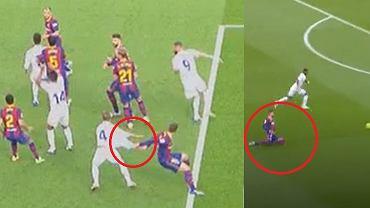 Barcelona przegrała El Clasico po błędach obrońców