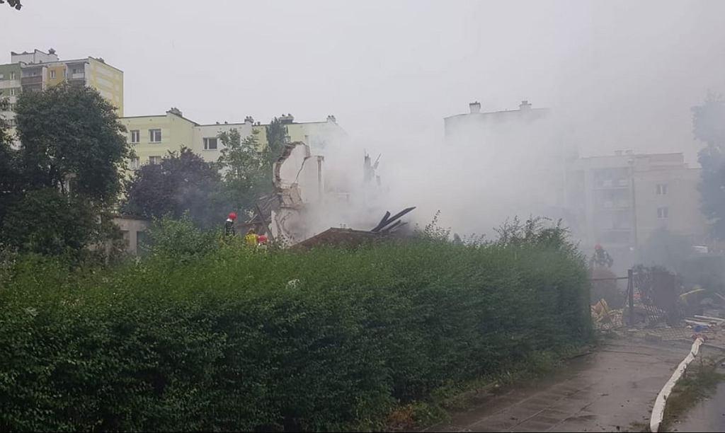 Wybuch w Toruniu