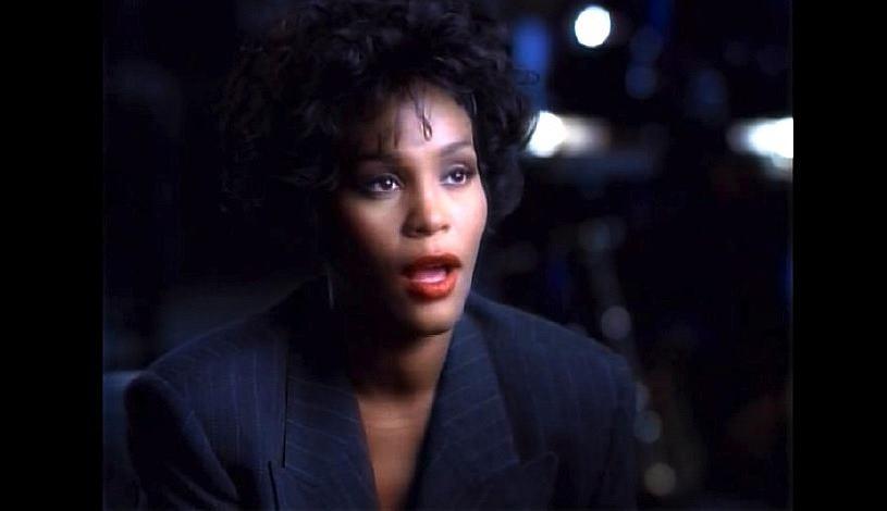 Whitney Houston w klipie do utworu 'I Will Always Love You'