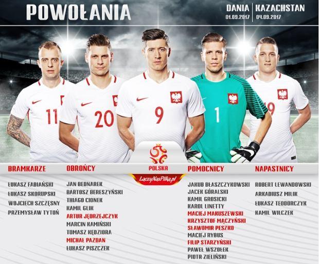 Kadra na wrześniowe mecze Polski