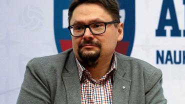 Tomasz Terlikowski podczas spotkania w ramach All in UJ, Kraków 28.02.2018