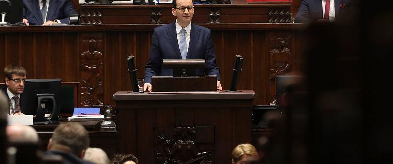 Dwoje posłów KO za wotum zaufania dla rządu Morawieckiego. Teraz tłumaczą