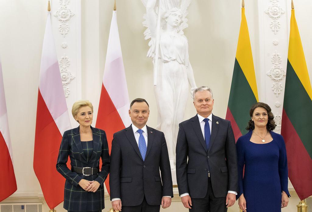Agata Duda, prezydent Andrzej Duda