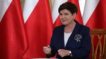 Premier rządu PiS Beata Szydło