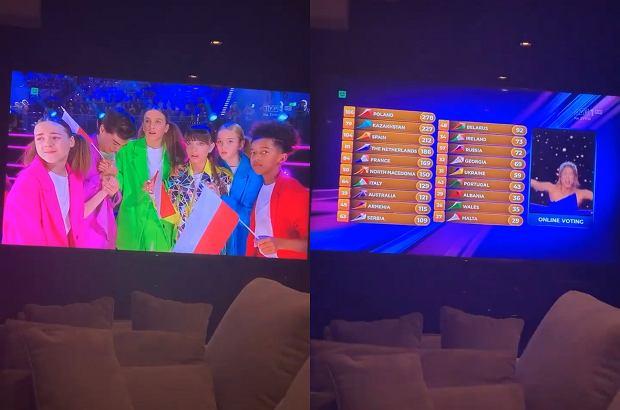 Doda oglądała Eurowizję Junior 2019