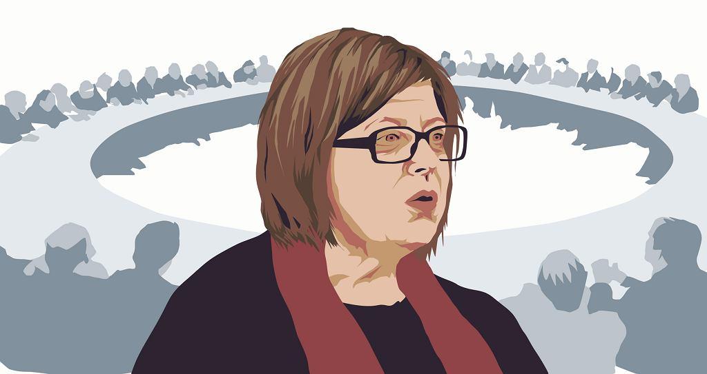 Beata Chmiel w 1989 była sekretarzem Tadeusza Mazowieckiego.