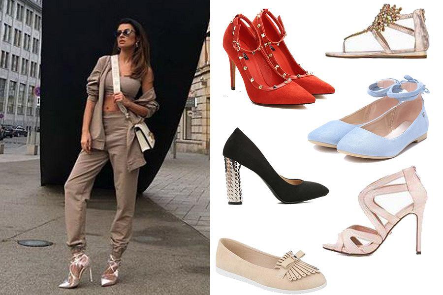 Kolaż, eleganckie buty/Materiały partnera