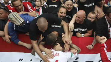 Euro 2016. Węgry - Austria 2:0. Tamas Kadar z Lecha Poznań