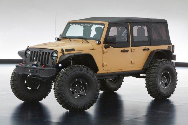 Jeep Wrangler Sand Trooper II