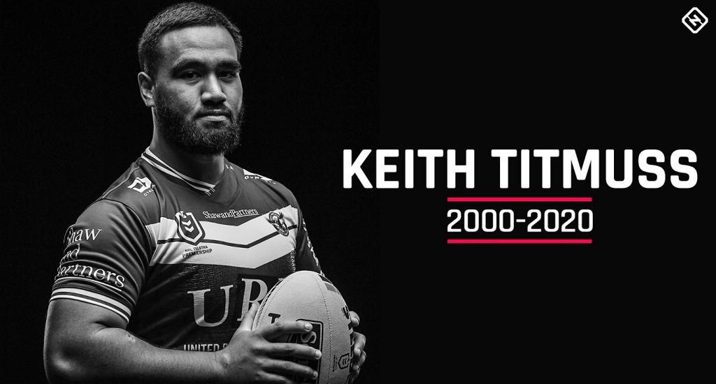 Zmarł Keith Titmuss - grafika od Sporting News Australia
