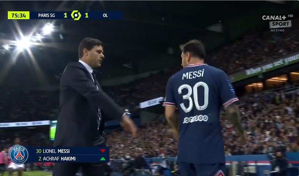Lionel Messi mengabaikan pelatih PSG  Rekan-rekan saya tercengang [WIDEO] Pinka Nona