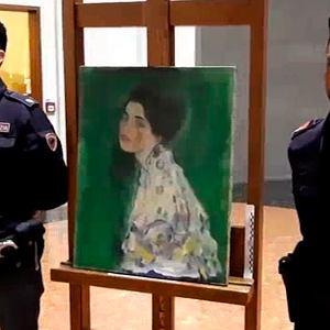 Obraz Klimta zaginął 20 lat temu. Wygląda na to, że cały czas był w galerii - w skrytce w murze