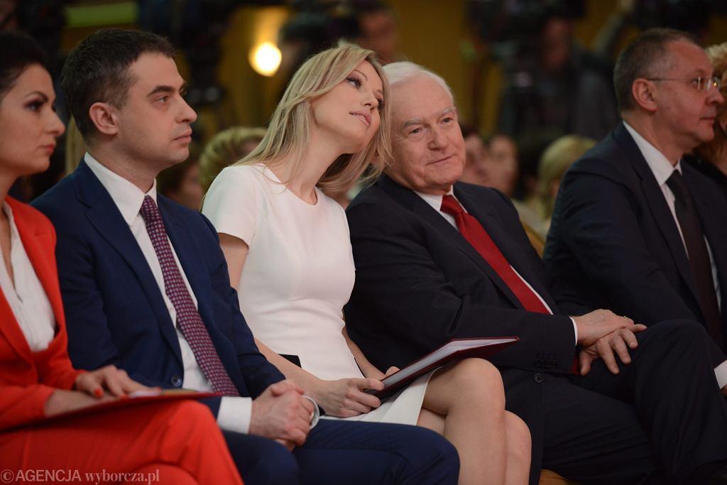 ;Magdalena Ogorek podczas V Sejmik Kobiet Lewicy w Warszawie