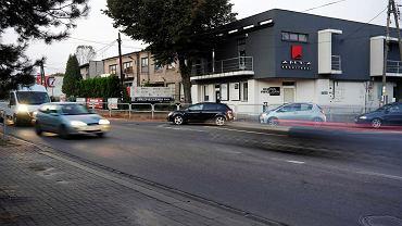 Częstochowa, skrzyżowanie ulic Ludowej i Sejmowej w Kiedrzynie