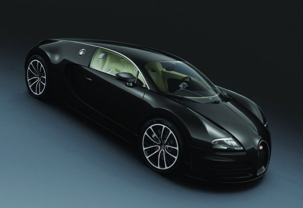 Bugatti Veyron Super Sport Black Carbon 2012