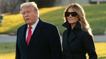 Donald i Melania Trumpowie wyruszają na ostatnie święta w Białym Domu