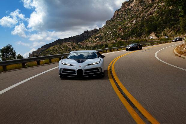 Testy w gorących warunkach. Bugatti Centodieci żegna się z Ameryką
