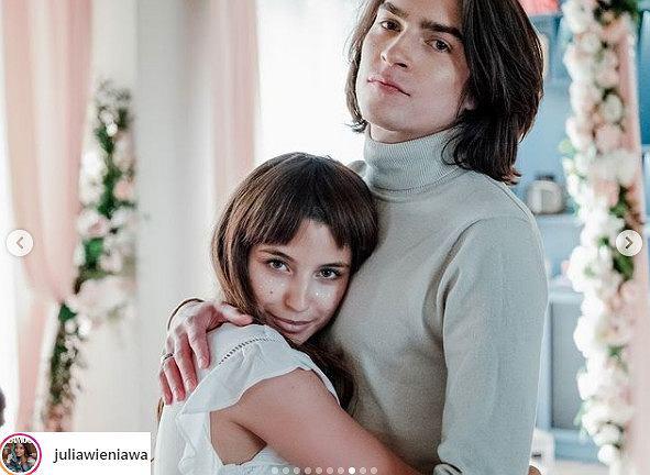 Julia Wieniawa i Nikodem Rozbicki