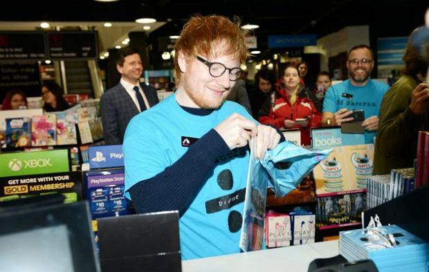 Ed Sheeran promuje swoją najnowszą płytę