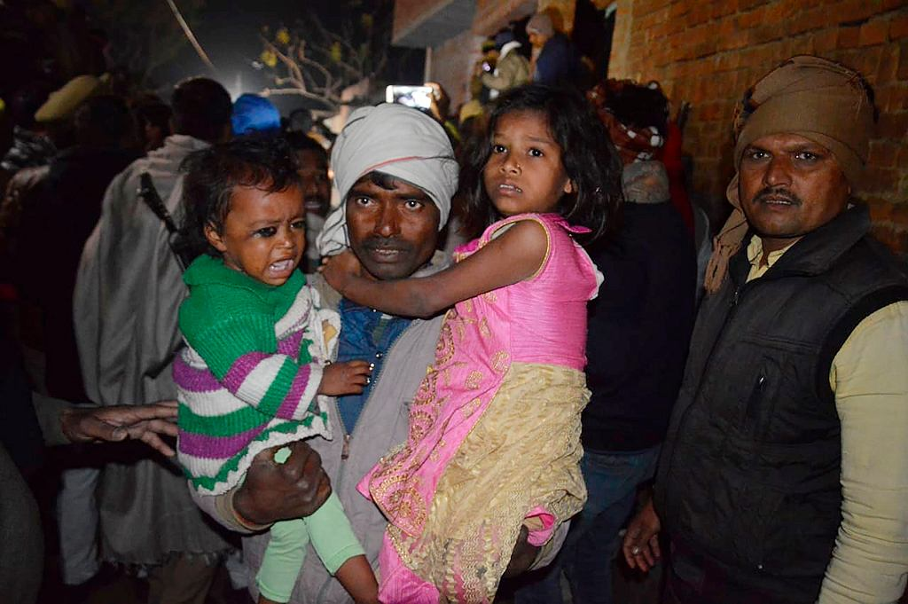 India Children Hostages