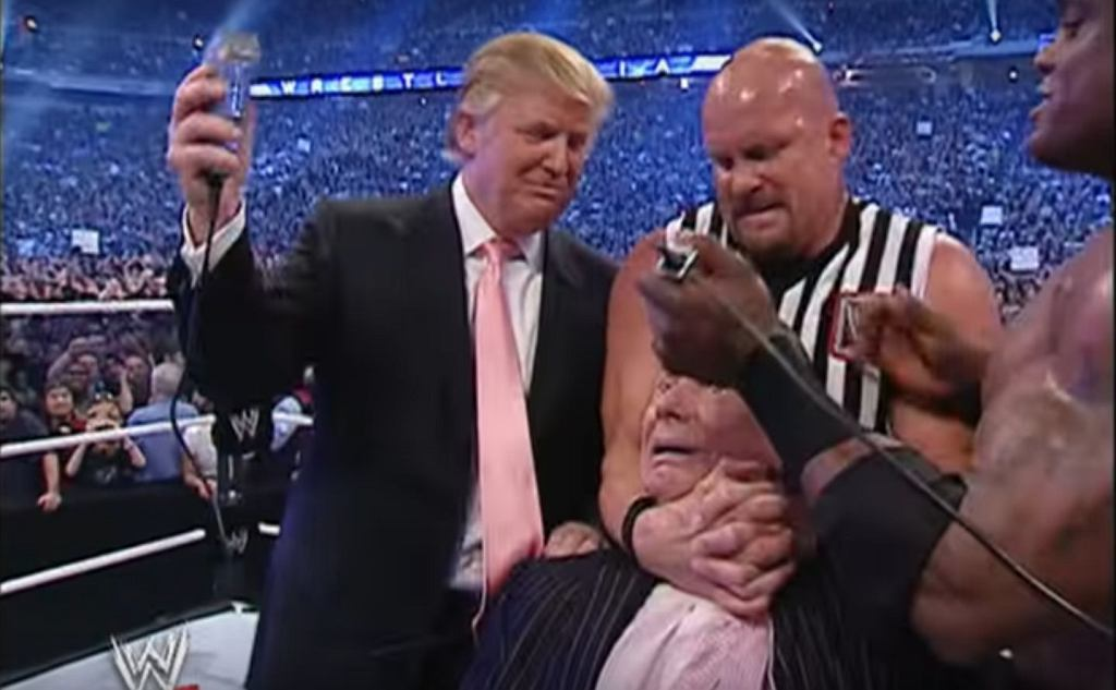 Donald Trump i Vince McMahon