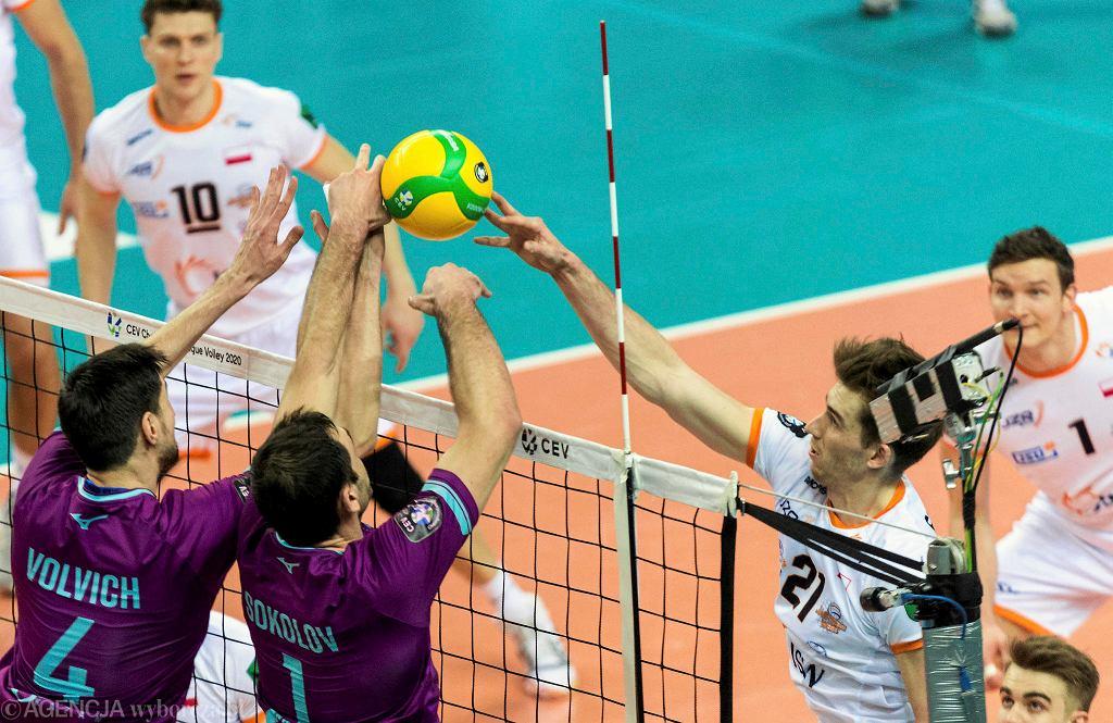Jastrzębski Węgiel wygrał z Zenitem Kazań w minionym sezonie Ligi Mistrzów
