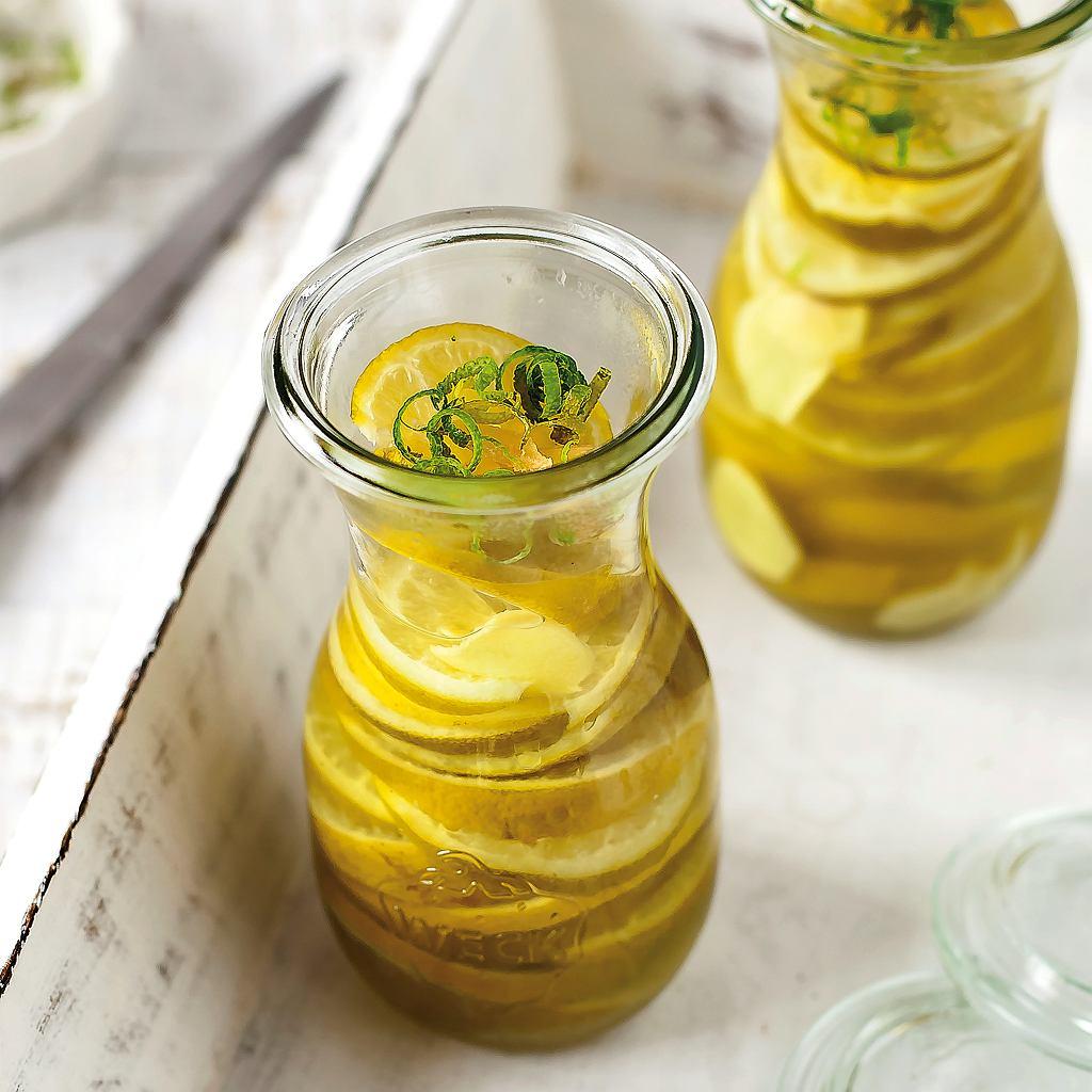 Marynowane limonki z chilli
