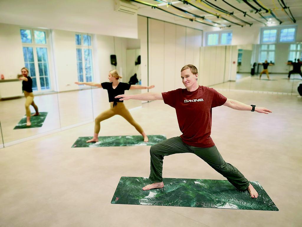 Mój pierwszy raz: joga dla mężczyzn