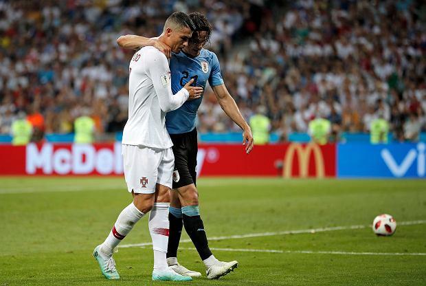 fe93e1c5a Mistrzostwa świata 2018. Urugwaj - Portugalia. Cristiano Ronaldo ...