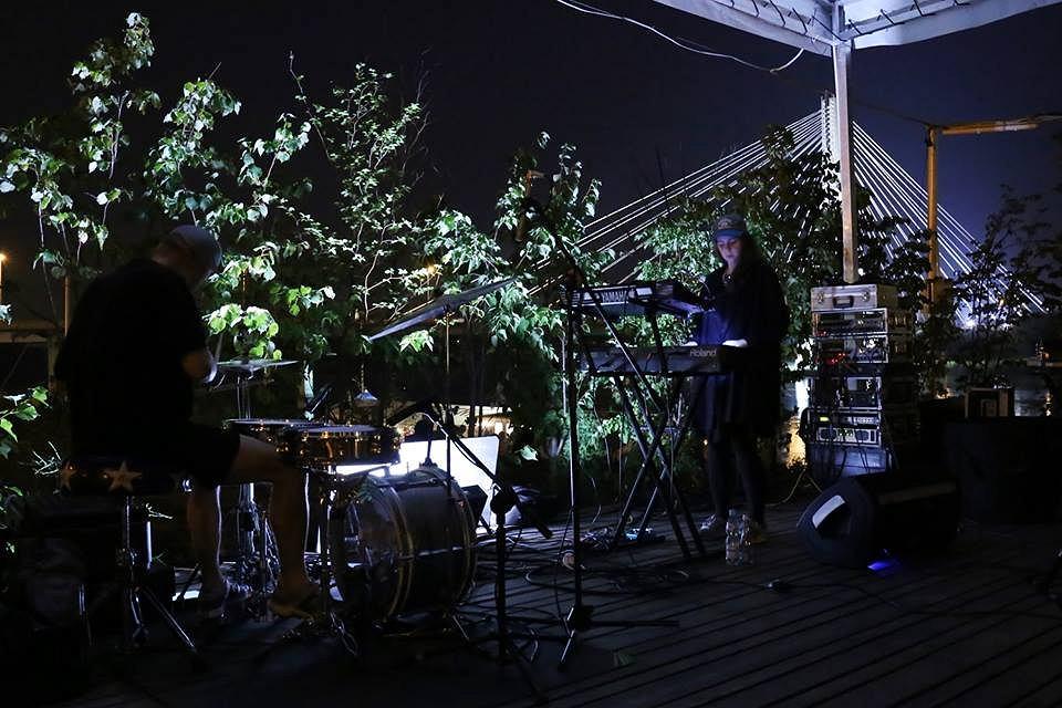 Duet Alexis wystąpił w czwartek na Placu Zabaw nad Wisłą / fot. Rafał Zatorski