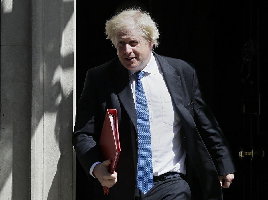 Szef dyplomacji Wielkiej Brytanii Boris Johnson podał się dymisji