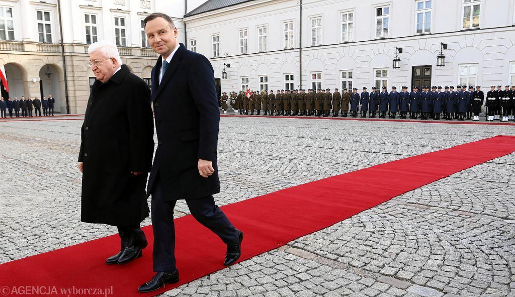 Wizyta prezydenta Iraku w Polsce