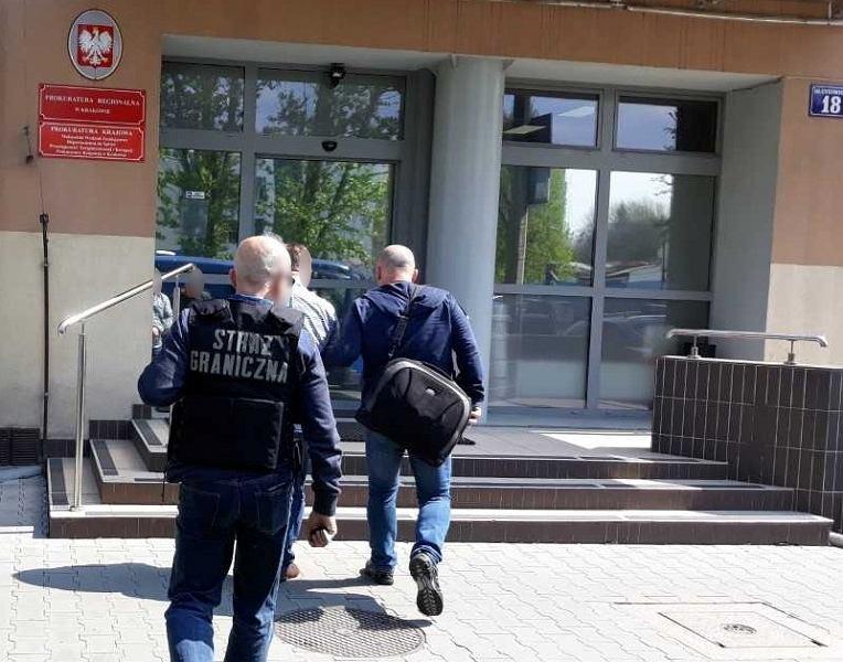 Straż Graniczna zatrzymała członka międzynarodowej grupy przestępczej