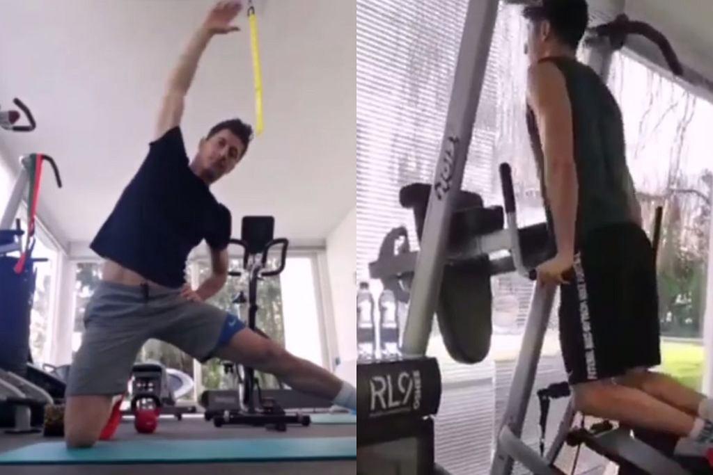 Robert Lewandowski - trening