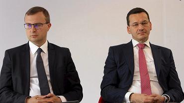 Paweł Borys i Mateusz Morawiecki