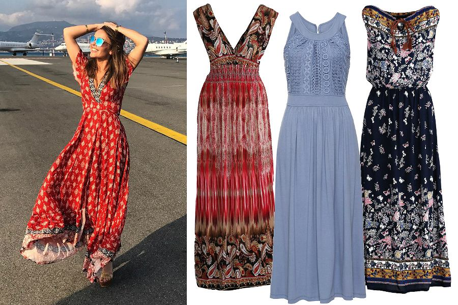 Sukienki maxi na lato
