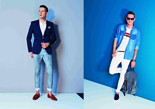 Jasne dżinsy: zobacz najmodniejsze wozry, spodnie, moda męska