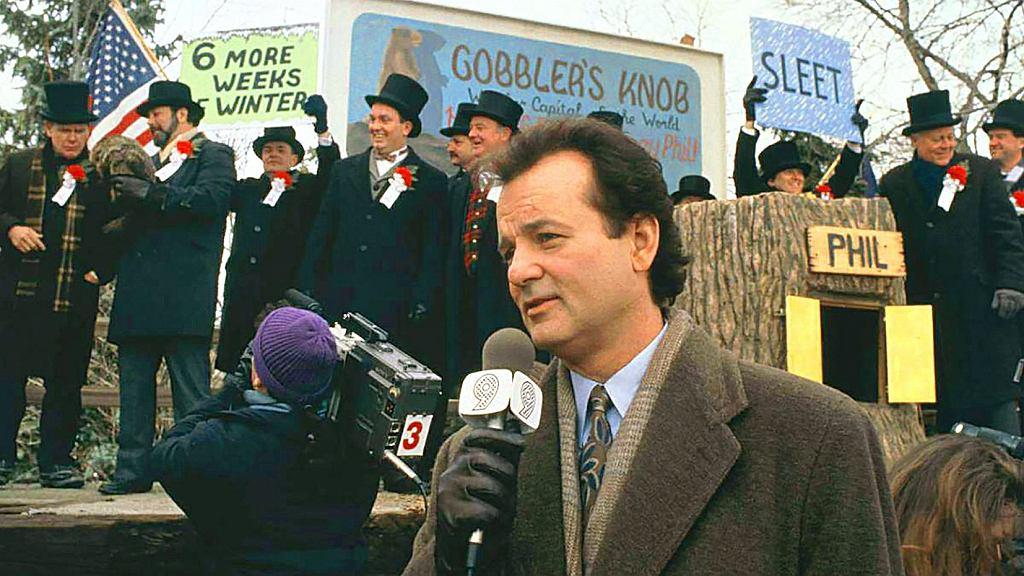 kadr z filmu 'Dzień świstaka'