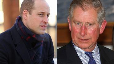 Książę William i książę Karol