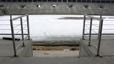 Budowa stadionu w Tychach - stan na początek marca 2015 roku