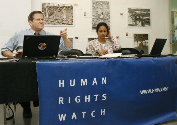 Prezentacja raportu Human Rights Watch