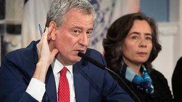 Burmistrz Nowego Jorku Bill de Blasio