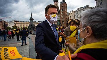 Hołownia o powrocie Tuska: Nie zamierzamy nikomu składać hołdu lennego