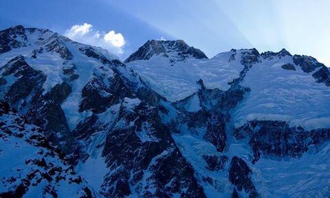 Nanga Parbat od strony doliny Diamir