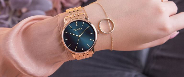 Wyjątkowe zegarki Kazar. Modele, które zastąpią biżuterię