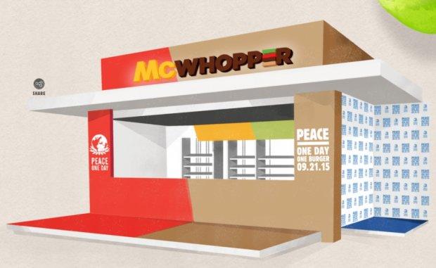Koniec wojny McDonald's z Burger Kingiem? Miała być wspólna kanapka. Niestety, jedna z sieci nie chce się zabawić