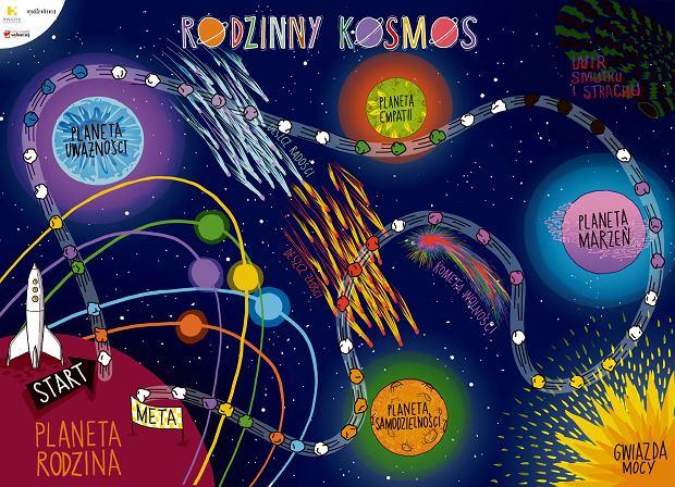 Gra planszowa 'Rodzinny kosmos'