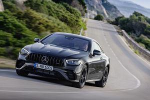 Mercedes E coupe i kabrio po modernizacji. Odświeżony model został zaprezentowany również w wersji AMG