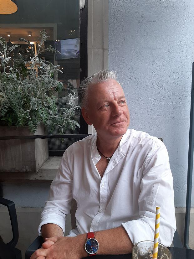 Grzegorz Skalmowski - właściciel farmy ślimaków
